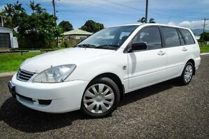 2008 Mitsubishi Lancer CH MY07 ES White 5 Speed Manual Wagon Bungalow Cairns City Preview