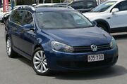 2010 Volkswagen Golf VI MY11 118TSI DSG Comfortline Blue 7 Speed Sports Automatic Dual Clutch Wagon Southport Gold Coast City Preview