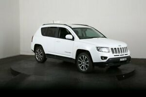2014 Jeep Compass MK MY15 Limited (4x4) White 6 Speed Automatic Wagon McGraths Hill Hawkesbury Area Preview
