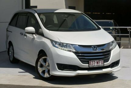 2016 Honda Odyssey RC MY16 VTi White 7 Speed Constant Variable Wagon Robina Gold Coast South Preview