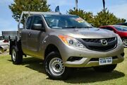 2013 Mazda BT-50 UP0YF1 XT Freestyle Gold 6 Speed Manual Cab Chassis Wangara Wanneroo Area Preview