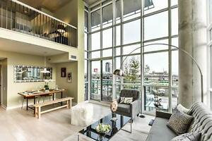 5 Hanna Lofts- Amazing 2 Storey Loft w/ 1,190 SQFT!