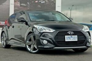 2014 Hyundai Veloster FS3 SR Coupe Turbo Black 6 Speed Sports Automatic Hatchback Ferntree Gully Knox Area Preview