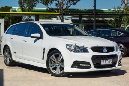 2013 Holden Commodore VF MY14 SS Sportwagon White 6 Speed Sports Automatic Wagon Braybrook Maribyrnong Area Preview
