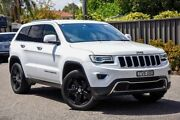 2014 Jeep Grand Cherokee WK MY2014 Limited White 8 Speed Sports Automatic Wagon Greenacre Bankstown Area Preview