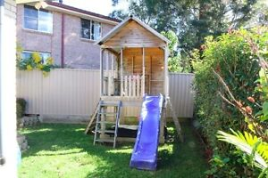 Timber Fort Cubby House Green Point Gosford Area Preview