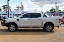 2014 Ford Ranger PX XLT Double Cab White 6 Speed Sports Automatic Utility Greenacre Bankstown Area Preview