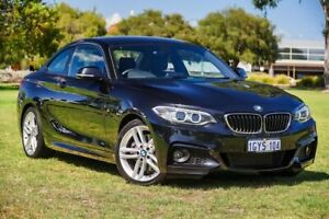 2015 BMW 2 Series F22 228i M Sport Black 8 Speed Sports Automatic Coupe