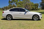 2014 BMW 328i F30 MY1114 Luxury Line White 8 Speed Sports Automatic Sedan Burswood Victoria Park Area Preview