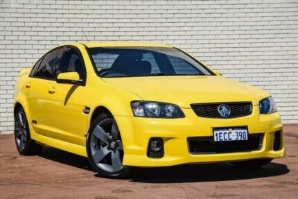 2012 Holden Commodore VE II MY12 SS Yellow 6 Speed Manual Sedan Bayswater Bayswater Area Preview