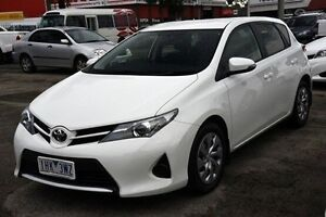 2015 Toyota Corolla ZRE182R Ascent S-CVT White 7 Speed Constant Variable Hatchback Croydon Maroondah Area Preview