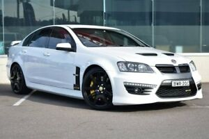 2010 Holden Special Vehicles GTS E Series 3 White 6 Speed Manual Sedan