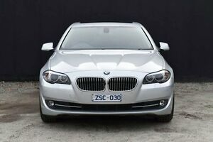 2012 BMW 520D F10 MY0911 Steptronic Titan Silver 8 Speed Sports Automatic Sedan Berwick Casey Area Preview