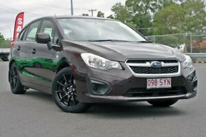 2013 Subaru Impreza G4 MY13 2.0i Lineartronic AWD Black 6 Speed Constant Variable Hatchback