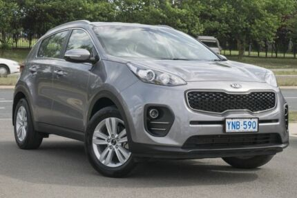 2017 Kia Sportage QL MY17 Si 2WD Silver 6 Speed Sports Automatic Wagon Pearce Woden Valley Preview