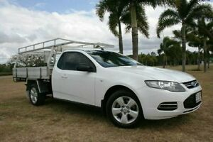 2012 Ford Falcon FG MkII Super Cab White 6 Speed Sports Automatic Cab Chassis Townsville Townsville City Preview