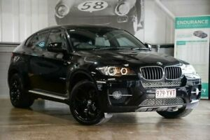 2012 BMW X6 E71 LCI xDrive30d Coupe Steptronic Black 8 Speed Sports Automatic Wagon