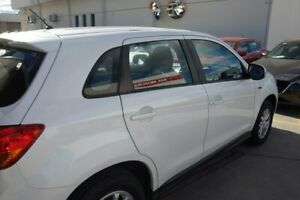 2013 Mitsubishi ASX XB MY13 2WD White 5 Speed Manual Wagon East Maitland Maitland Area Preview