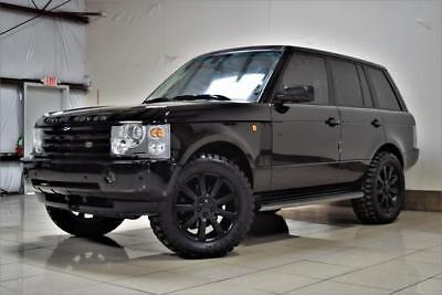 2005 Land Rover Range Rover Hse Lifted 4X4 Lifted One Of A Kind Land Rover Range Rover Hse 4X4  Big Tires Heated Seat