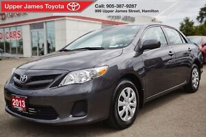 2013 Toyota Corolla CE- Excellent Service History One Owner