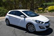 2013 Hyundai i30 GD2 Active White 6 Speed Sports Automatic Hatchback St Marys Mitcham Area Preview