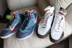 Nike Basketball Shoes men's size US 10, US 11 in great condition