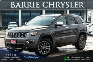 2018 Jeep Grand Cherokee Limted**LEATHER**HEATED SEATS**