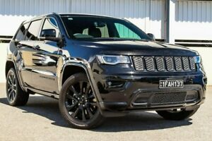 2018 Jeep Grand Cherokee WK MY18 Blackhawk Black Sports Automatic Wagon Cannington Canning Area Preview