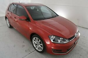 2013 Volkswagen Golf VII 103TSI DSG Highline Red 7 Speed Sports Automatic Dual Clutch Hatchback Hamilton North Newcastle Area Preview