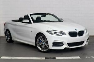 2018 BMW M240i F23 LCI White 8 Speed Sports Automatic Convertible Zetland Inner Sydney Preview