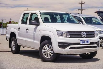 2017 Volkswagen Amarok 2H MY18 TDI420 4MOTION Perm Core White 8 Speed Automatic Utility Myaree Melville Area Preview