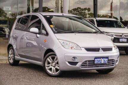 2011 Mitsubishi Colt RG MY11 VR-X Silver 5 Speed Manual Hatchback Myaree Melville Area Preview