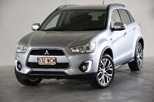 2015 Mitsubishi ASX XB MY15 LS 2WD Silver 6 Speed Constant Variable Wagon Robina Gold Coast South Preview