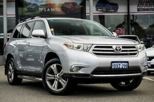 2012 Toyota Kluger GSU45R MY12 KX-S AWD Silver 5 Speed Sports Automatic Wagon Myaree Melville Area Preview