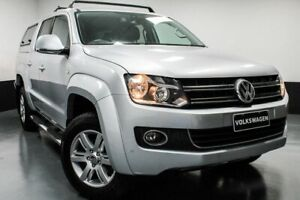 2014 Volkswagen Amarok 2H MY15 TDI420 4Motion Perm Highline Reflex Silver 8 Speed Automatic Utility Glendale Lake Macquarie Area Preview