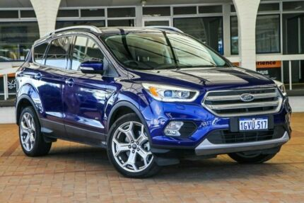 2017 Ford Escape ZG Titanium PwrShift AWD Blue 6 Speed Sports Automatic Dual Clutch Wagon Melville Melville Area Preview