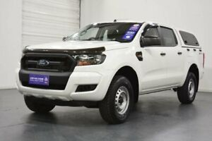 2015 Ford Ranger PX MkII XL 2.2 Hi-Rider (4x2) Cool White 6 Speed Automatic Crew Cab Chassis Oakleigh Monash Area Preview