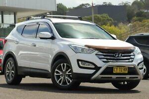 2013 Hyundai Santa Fe DM Elite CRDi (4x4) White 6 Speed Automatic Wagon Wyong Wyong Area Preview