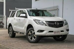 2017 Mazda BT-50 UR GT White Sports Automatic Springwood Logan Area Preview