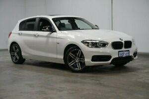 2018 BMW 1 Series F20 LCI-2 118i Steptronic Sport Line White 8 Speed Sports Automatic Hatchback