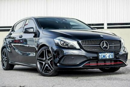 2017 Mercedes-Benz A250 SPORT D-CT 4MATIC W176 808+058MY Black Sports Automatic Dual Clutch Cannington Canning Area Preview