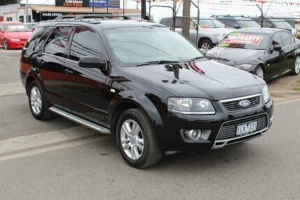 2011 Ford Territory SY Mkii TS Limited Edition (RWD) Black 4 Speed Auto Seq Sportshift Wagon Brooklyn Brimbank Area Preview