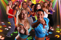 Work out, Have fun, Be happy = Partyrobics