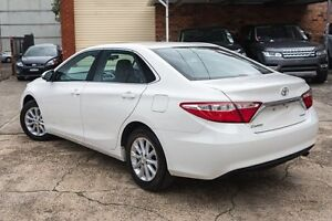 2015 Toyota Camry ASV50R Altise White 6 Speed Sports Automatic Sedan Brookvale Manly Area Preview