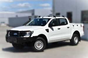 2011 Ford Ranger PX XL Double Cab White 6 Speed Manual Utility Pakenham Cardinia Area Preview
