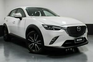 2016 Mazda CX-3 DK4W7A sTouring SKYACTIV-Drive i-ACTIV AWD White 6 Speed Sports Automatic Wagon Hamilton East Newcastle Area Preview