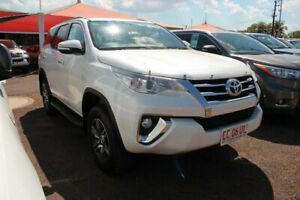 2015 Toyota Fortuner GUN156R GXL Crystal Pearl 6 Speed Automatic Wagon The Gardens Darwin City Preview
