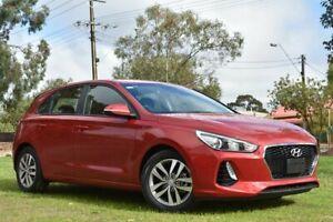 2017 Hyundai i30 PD MY18 Active Fiery Red 6 Speed Sports Automatic Hatchback St Marys Mitcham Area Preview