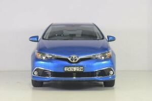 2016 Toyota Corolla ZRE182R Ascent Sport Blue 6 Speed Manual Hatchback