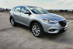 2014 Mazda CX-9 TB10A5 Grand Touring Activematic AWD Silver 6 Speed Sports Automatic Wagon Haymarket Inner Sydney Preview